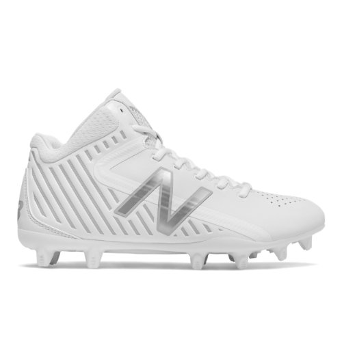 New Balance RushLX Men's Cleats Shoes - White / Silver (RUSHWT)