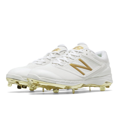 New Balance Low Cut 4040v1 Gold Women's Shoes - White / Gold (SM4040X1)