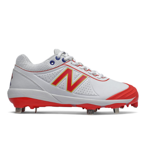 New Balance x Big League Chew FUSEv2 Women's Softball Shoes - White (SMFUSEO2)