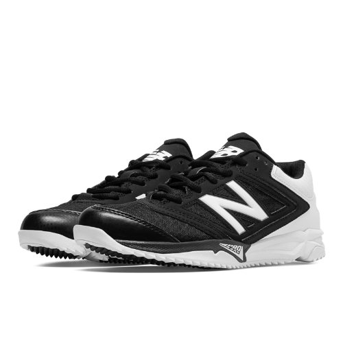 New Balance Turf 4040v1 Women's Fastpitch Shoes - Black / White (ST4040B1)