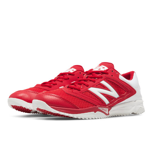 New Balance Turf 4040v1 Women's Fastpitch Shoes - Red / White (ST4040R1)