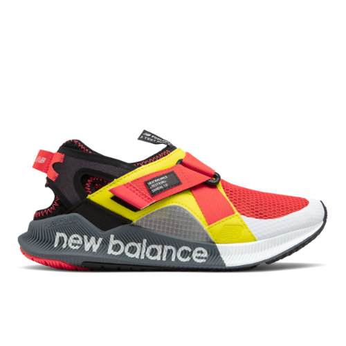 New Balance Shandal Women's Sandals - Black / Red (SWATSTR1)