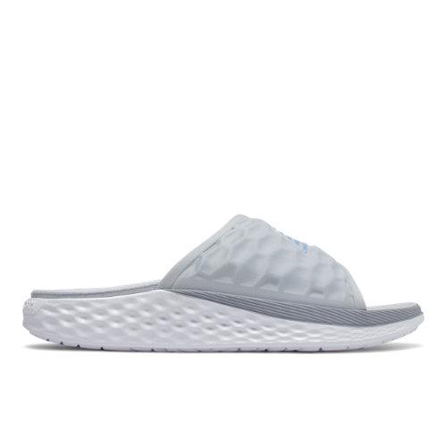New Balance Fresh Foam Hupoo Women's Slides Shoes - Grey (SWFTEKL1)