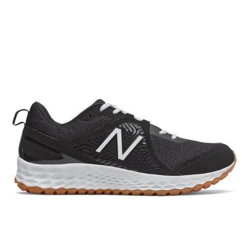 New Balance Fresh Foam 3000v5 Turf Men's Baseball Shoes - Black / White (T3000BK5)