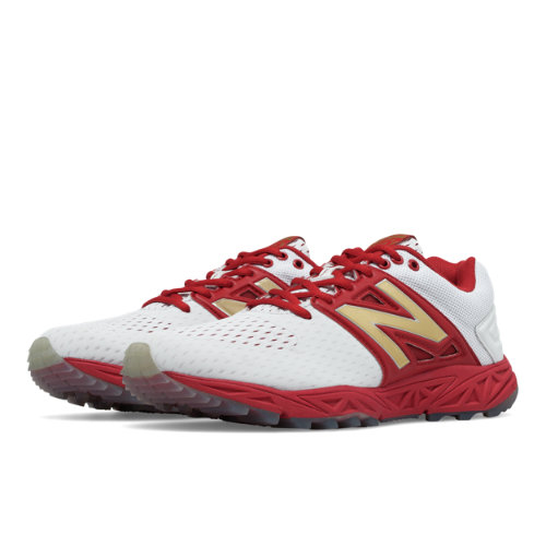 New Balance Turf 3000v3 Playoff Pack Men's Turf Shoes - Red / White (T3000P23)