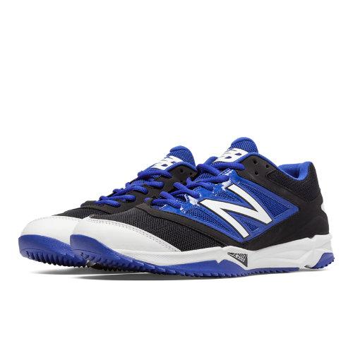 New Balance Turf 4040v3 Synthetic Mesh Men's Turf Shoes - Black, Blue (T4040BB3)