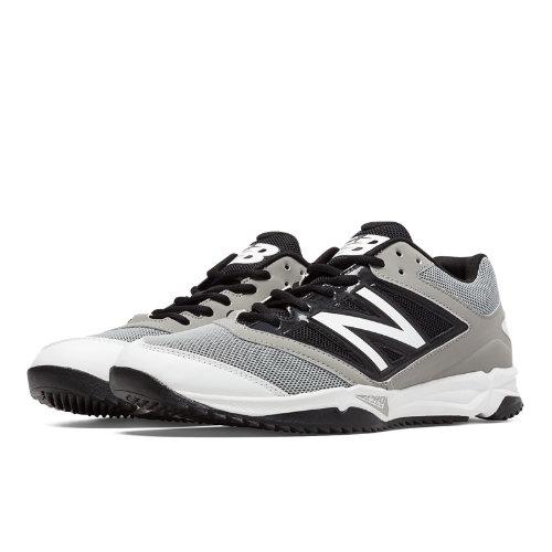New Balance Turf 4040v3 Synthetic Mesh Men's Turf Shoes - Grey, Black (T4040GB3)