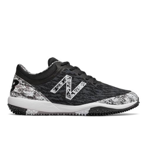 New Balance 4040v5 Pedroia Turf Men's Baseball Shoes - Black (T4040PK5)