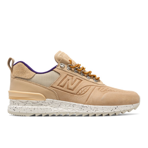New Balance Trailbuster All-Terrain Men's Outdoor Sport Style Sneakers Shoes - Tan / Purple (TBATRA)