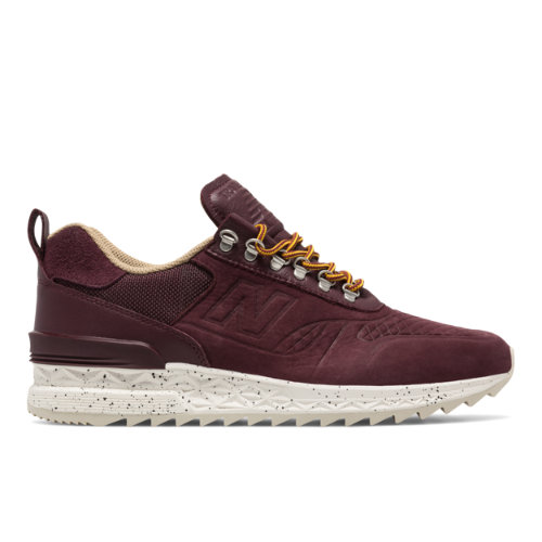 New Balance Trailbuster All-Terrain Men's Outdoor Sport Style Sneakers Shoes - Chocolate Cherry / Tan (TBATRC)