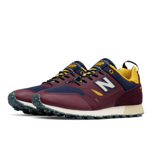 New Balance Trailbuster Re-Engineered Men's Outdoor Sport Style Sneakers Shoes - Red (TBTFHBN)