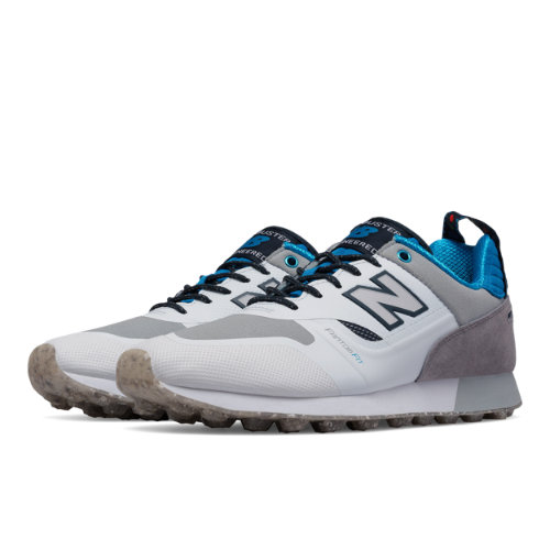 New Balance Trailbuster Re-Engineered Men's Outdoor Sport Style Sneakers Shoes - White / Grey (TBTFHWB)
