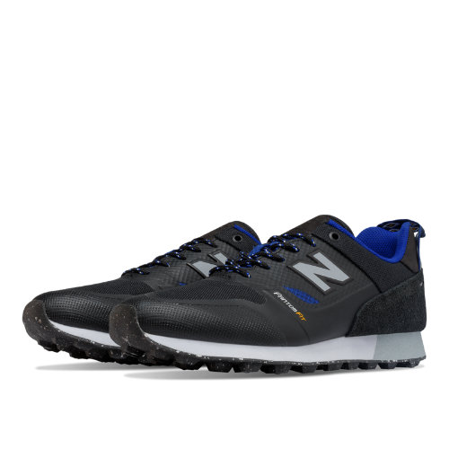 New Balance Trailbuster Re-Engineered Men's Outdoor Sport Style Sneakers Shoes - Black / Blue (TBTFOB)