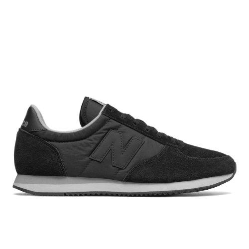 New Balance 220 Men's & Women's Running Classics Shoes - Black (U220BS)