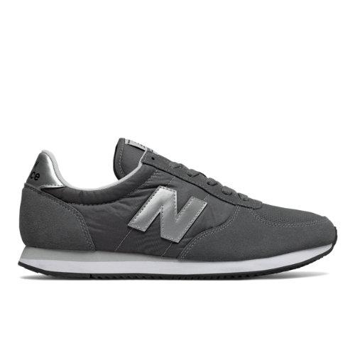 New Balance 220 Men's & Women's Running Classics Shoes - Grey / Silver (U220GS)