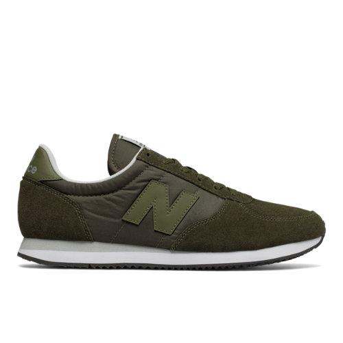 New Balance 220 Men's & Women's Running Classics Shoes - Military Dark Green (U220KS)