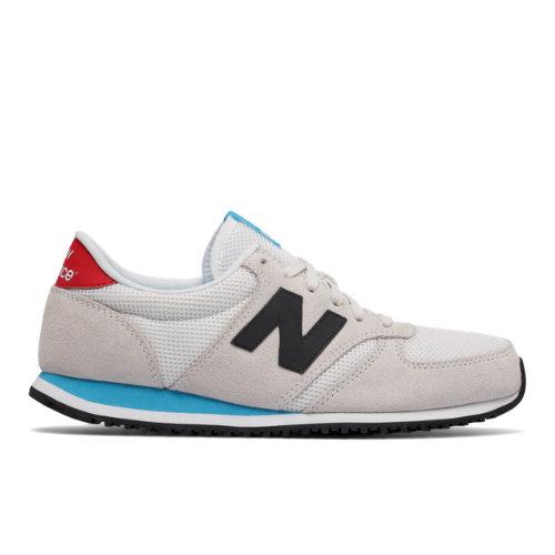 competitive price 2f97f 018b3 New Balance 420 Men s   Women s Running Classics Shoes - Grey   Black   Red  (U420WKR)