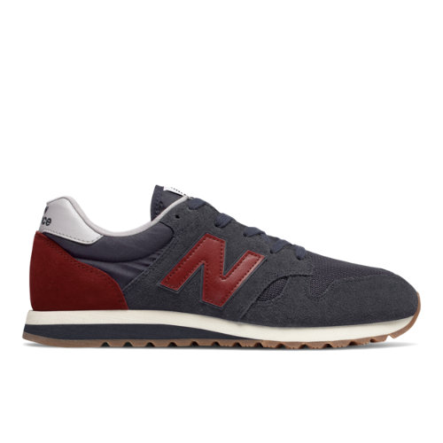 New Balance 520 Unisex Running Classics Shoes - Dark Blue / Red (U520EJ)