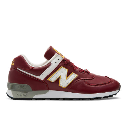 New Balance 576 Made in UK LFC Men's Shoes - Red / Yellow / White (M576LFC)