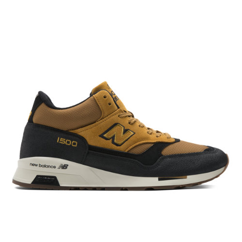New Balance 1500 Made in UK Men's Mid-Cut Sneakers Shoes - Beige / Black (MH1500TK)