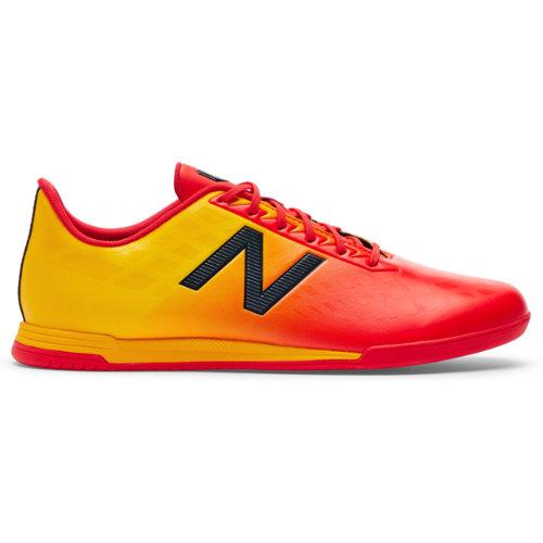 New Balance Furon v4 Dispatch IN Men's Soccer Shoes - Red / Orange (MSFDIFA4)