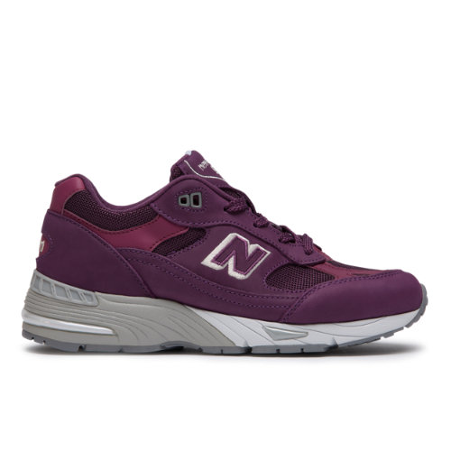 regard détaillé daf02 623a7 New Balance 991 Made in UK Nubuck Women's Shoes - Purple ...