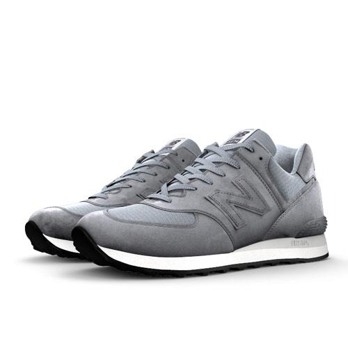 New Balance Custom 574 Men's & Women's Made in USA Shoes - White (US574-BLANK)