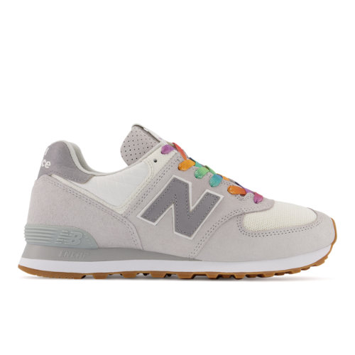 New Balance 574 Made in USA Lifestyle Shoes - Grey (US574DNW)