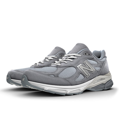 New Balance Custom 990v3 Men's & Women's Made in USA Shoes - Gunmetal (US990V3-BLANK)