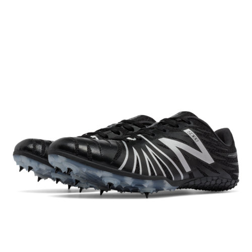 New Balance SD100 Spike Men's & Women's Track Spikes Shoes - Black / Silver (USD100BS)