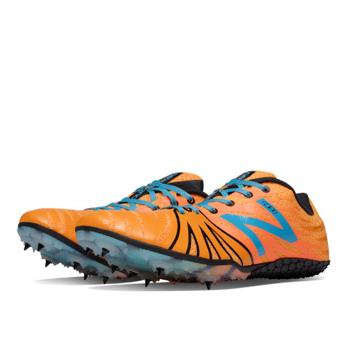 New Balance SD100 Spike Men's & Women's Track Spikes Shoes - Orange, Atlantic Blue (USD100OR)