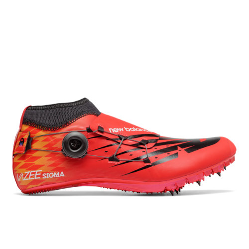 New Balance Vazee Sigma Men's & Women's Track Spikes Shoes - Red / Black (USD200F3)