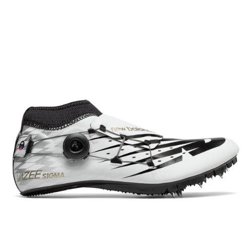 New Balance Vazee Sigma Men's & Women's Track Spikes Shoes - White / Black (USD200W3)