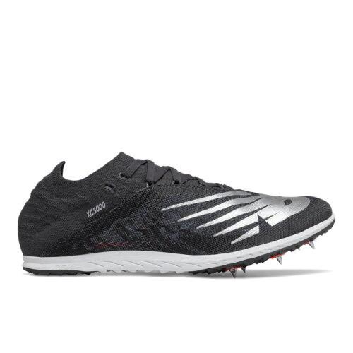 New Balance Unisex XC5KV5 Cross Country Running Shoes - Black (UXC5KSR5)