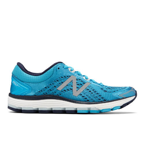 New Balance 1260v7 Women's Stability Running Shoes – Blue (W1260PP7)