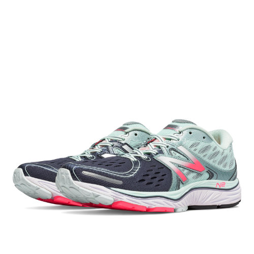New Balance 1260v6 Women's Shoes - Droplet / Guava / Grove (W1260PW6)