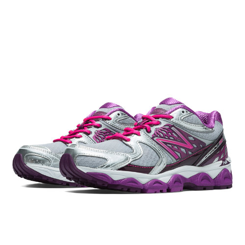 New Balance 1340v2 Women's Running Recommender Styles Shoes - Silver, Pink Zing, Purple Cactus Flower (W1340SP2)