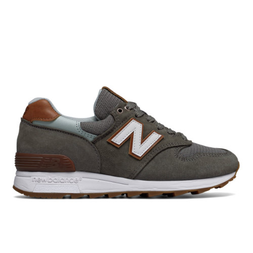 New Balance 1400 Winter Peaks Women's Made in USA Shoes - Olive / Brown (W1400CG)