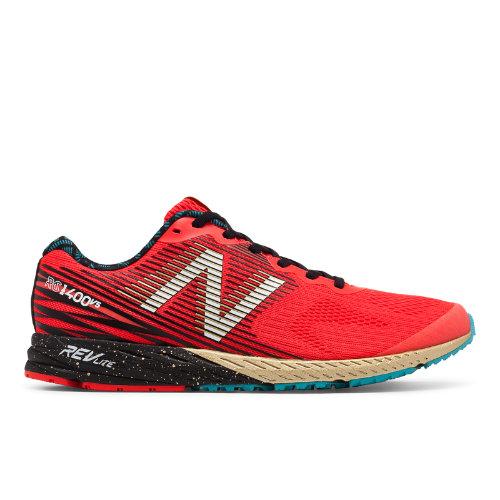 New Balance 1400v5 NYC Marathon Women's Racing Flats Shoes - Red / Blue (W1400NY5)