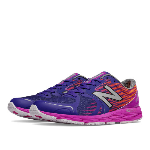 New Balance 1400v4 NB Team Elite Women's Shoes - Azalea / Black (W1400OL4)