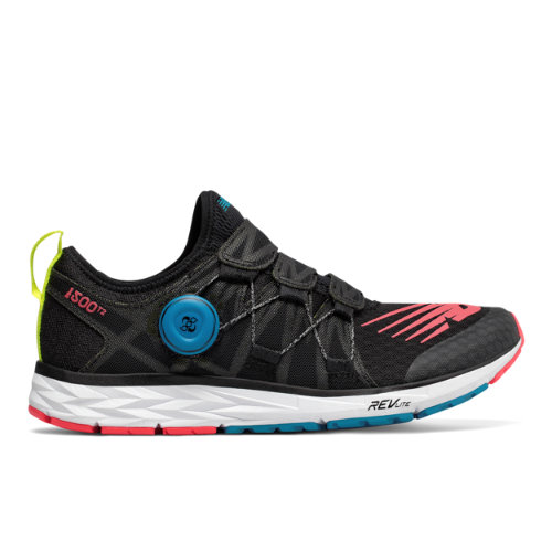 New Balance 1500v4 Women's Racing Flats Shoes - Black / Red (W1500BB4)
