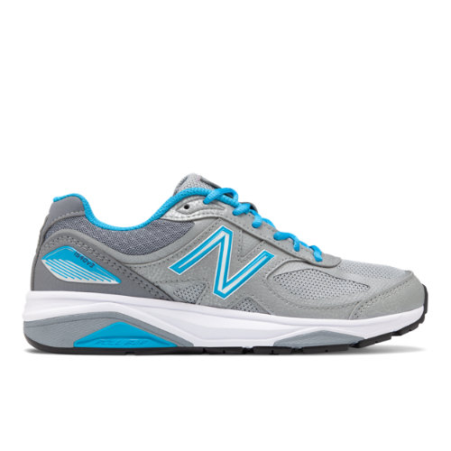 New Balance Made in USA 1540v3 Women's Motion Control Shoes - Silver (W1540SP3)