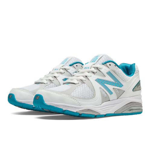 New Balance 1540v2 Women's Everyday Running Shoes - White, Blue Bell (W1540WB2)