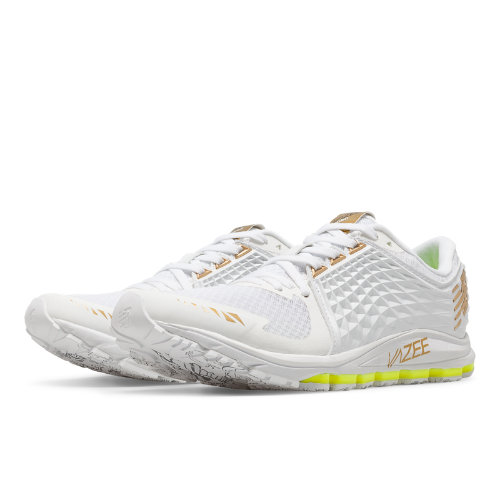 New Balance Vazee 2090 Glory Women's Speed Shoes - White / Gold / Toxic (W2090TT)