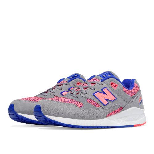 New Balance 530 Kinetic Imagination Women's Shoes - Steel / Guava / UV Blue (W530KIE)