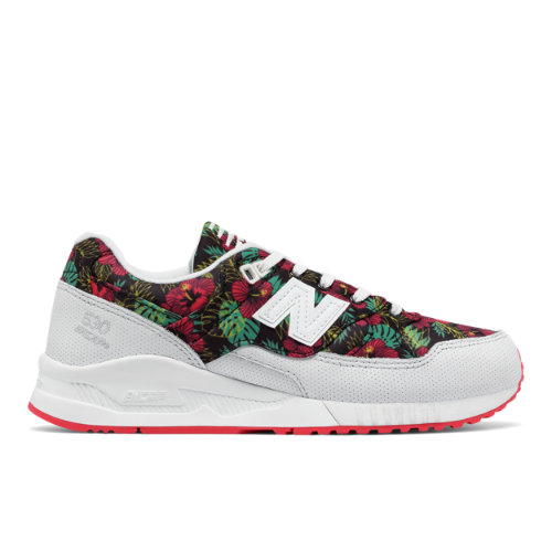 New Balance 530 90s Running Women's Sneakers Shoes - White / Red / Black (W530TCA)