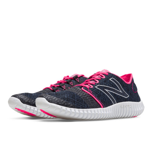 New Balance 730v3 Women's Everyday Running Shoes - Black / Amp Pink (W730LB3)