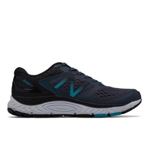 New Balance 840v4 Women's Neutral Cushioned Shoes - Black (W840BB4)
