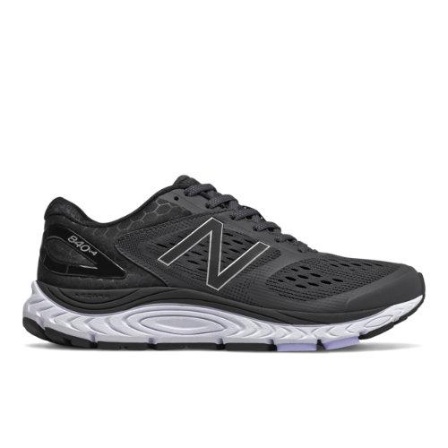 New Balance 840v4 Women's Running Shoes - Black (W840BK4)
