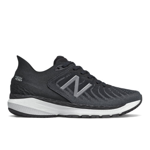 New Balance Fresh Foam 860v11 Women's Stability Running Shoes - Black (W860B11)